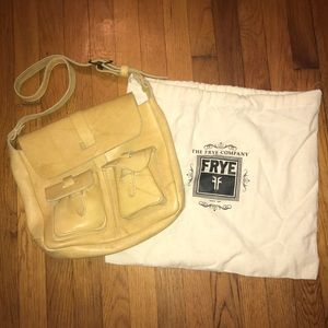Frye purse + dust bag